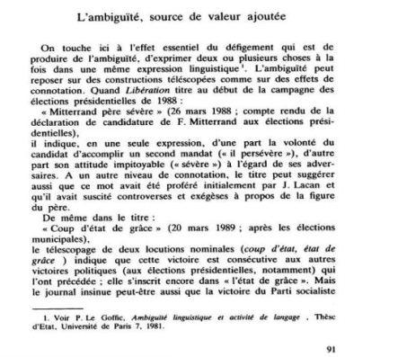 """""""La langue de bois en éclat..."""" (capture)"""