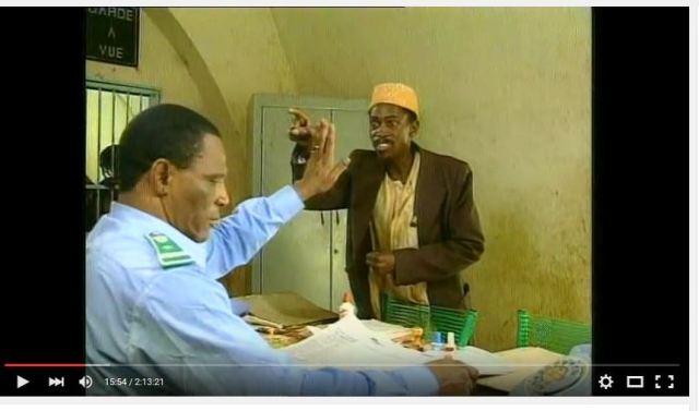 """(Scène de la série malienne """"Les aventures de Séko"""", réalisée par B. Sidibé - Capture d'écran)"""