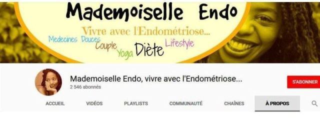 (Capture : chaîne YouTube de Juliette Ba pour sensibiliser sur l'endométriose.)