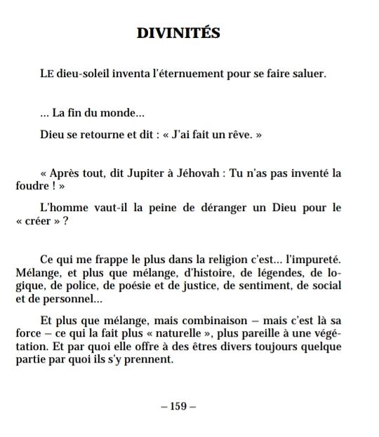 """Paul Valéry, """"Poésie et Mélange"""", Ed. BNR (Capture d'écran d'un extrait.)"""