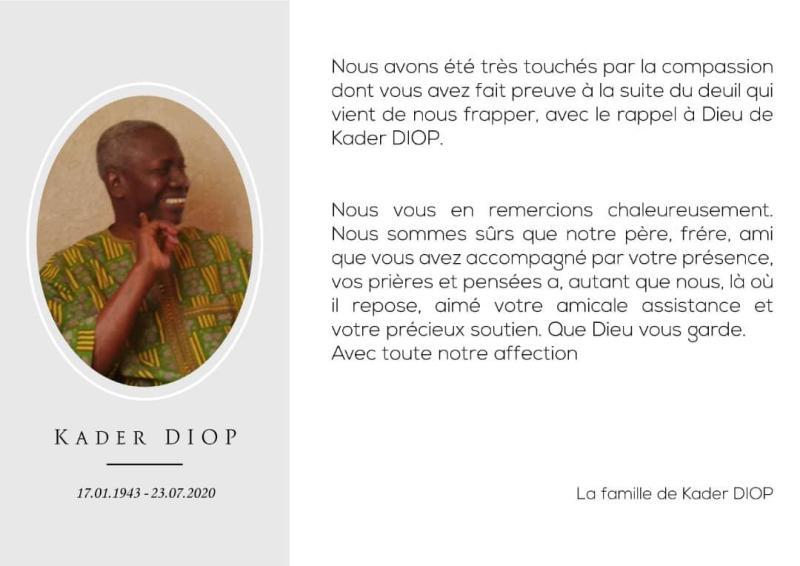 (Photo et texte : famille Diop)
